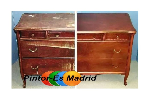 Como restaurar un mueble antiguo pintor mariano madrid - Como restaurar un mueble antiguo ...