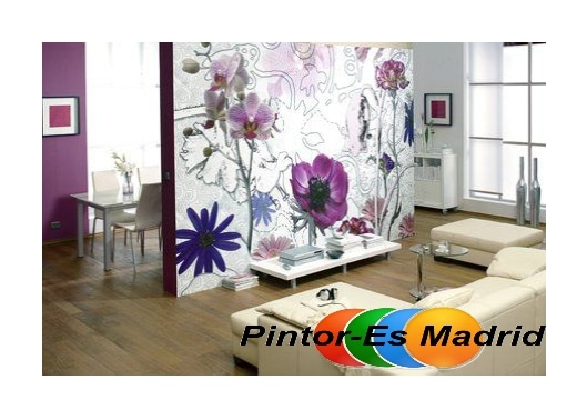 Papel pintado madrid pintor mariano madrid - Papel pintado madrid ...