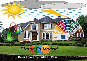 La mejor época de pintar su casa